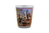 Philadelphia Skyline Shot Glass