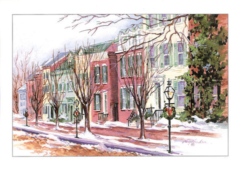 Winter Society Hill Christmas Boxed Cards