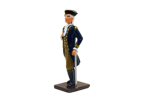Colonial General Metal Soldier