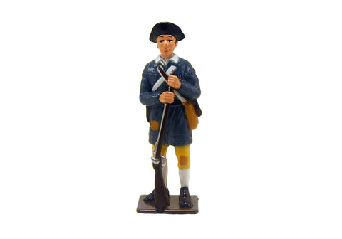 Colonial Infantryman Metal Soldier