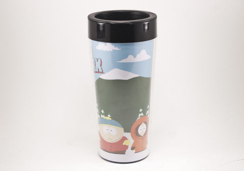 South Park  Bus Stop 16 oz Plastic Travel Mug
