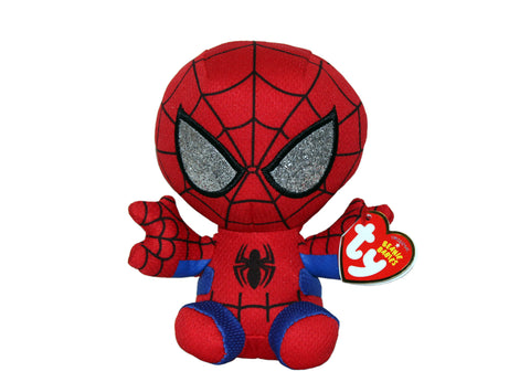 Spiderman Peter Parker Ty Plush (Small)