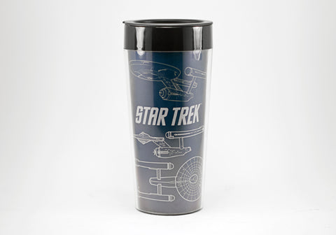 Star Trek 16 oz Plastic Travel Mug