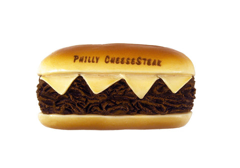 Philly Cheesesteak Sculpted Magnet