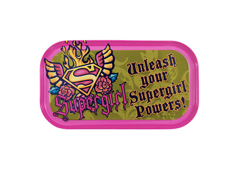 Supergirl Unleash Magnetic Tin Sign