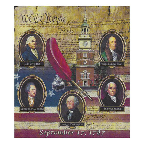 Founding Fathers Tapestry