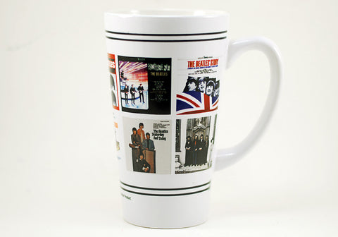 The Beatles US Albums Latte 16 oz Mug