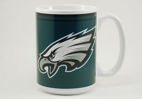 Philadelphia Eagles Logo 15 oz Mug