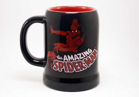 Spiderman stein mug