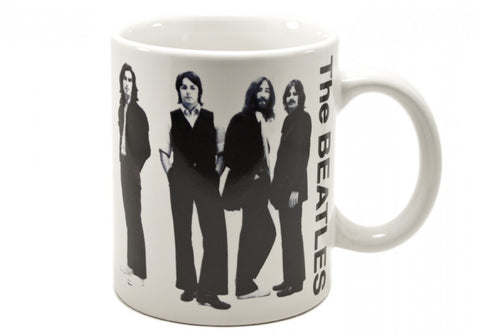 The Beatles White 12 oz Mug