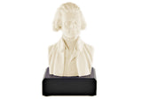 "Thomas jefferson 6"" Ivory White Bust (White)"