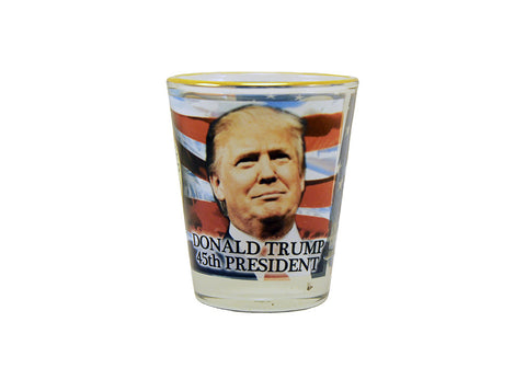 Trump And Pence Shot Glass