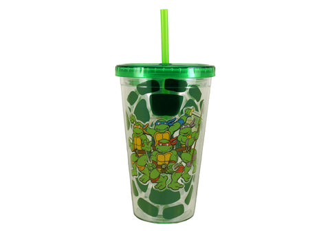 Teenage Mutant Ninja Turtles 18 oz Acrylic Travel Cup