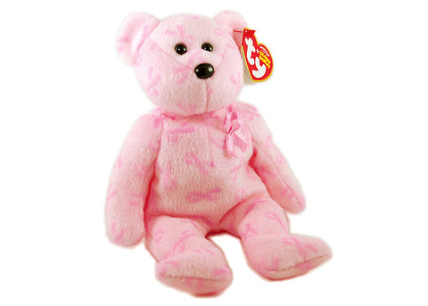 TY Support Breast Cancer Awareness Beanie Baby
