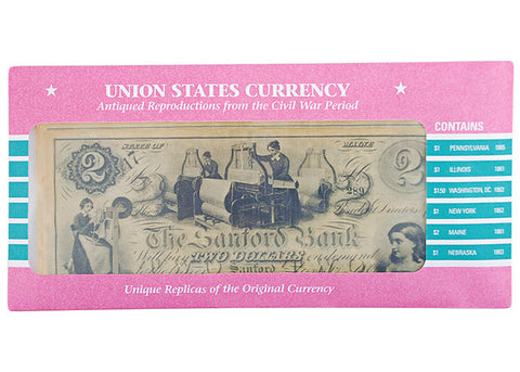 Union States Currency Set