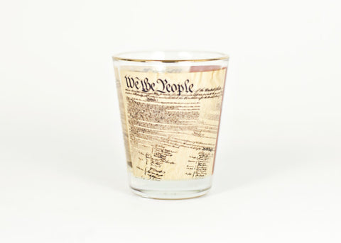 U. S. Constitution Shot Glass