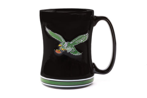 Philadelphia Eagles Vintage 15 oz Embossed Mug