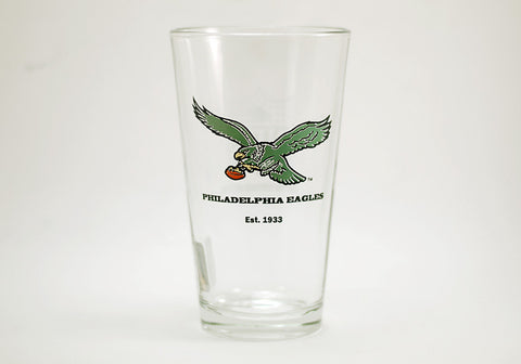 Philadelphia Eagles Vintage Logo Pint Glass