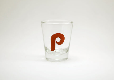 Philadelphia Phillies Vintage Logo Shot Glass