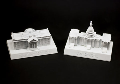 The White House & US Capitol Pencil Sharpeners