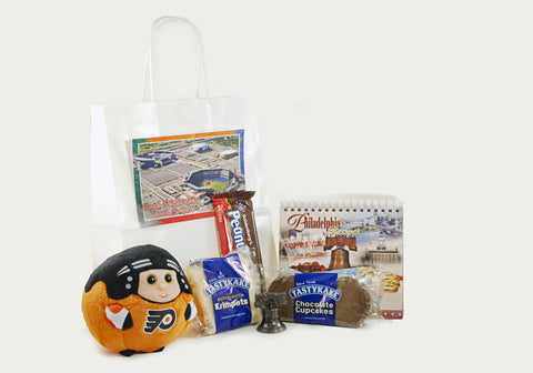 Small Welcome Bag with Choice of Plush Toy