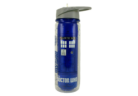 Doctor Who TARDIS 18 oz. Tritan Water Bottle
