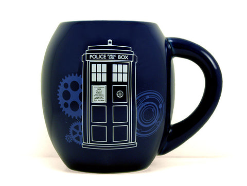 Doctor Who TARDIS 18 oz Oval Mug
