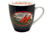 Wizard of Oz It's All About the Shoes 16 oz Mug