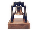 Large Liberty Bell on Wooden Base