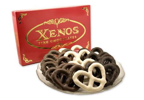 Asher's Chocolate Covered Pretzels 24 pcs  Mixed #B