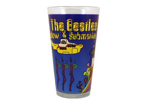 The Beatles Yellow Submarine Pint Glass