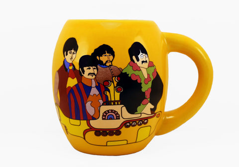 The Beatles Yellow Submarine 18 oz Oval Mug