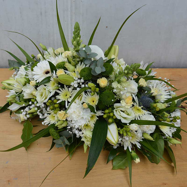 Oval Funeral Tribute