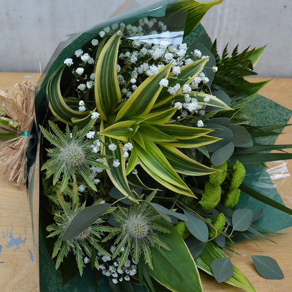 Hand Tied Foliage Bouquet