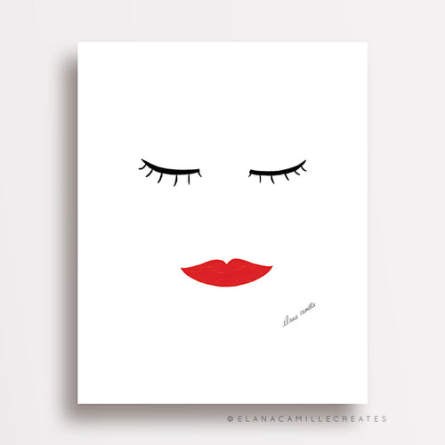 Beauty Sleep Art Print