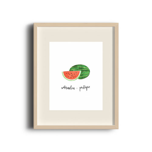 Watermelon Art Print