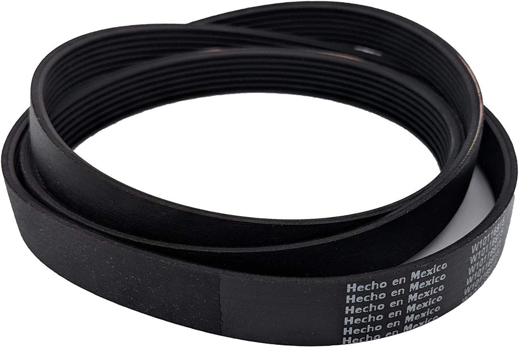 Ultra Durable WPW10388414 Drum Belt Compatible with Whirlpool Washer - AP6020747, W10388414, 8181670, 8182633, 8183269, PS11754067, W10116915