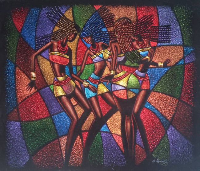 Colorful Women Dancers
