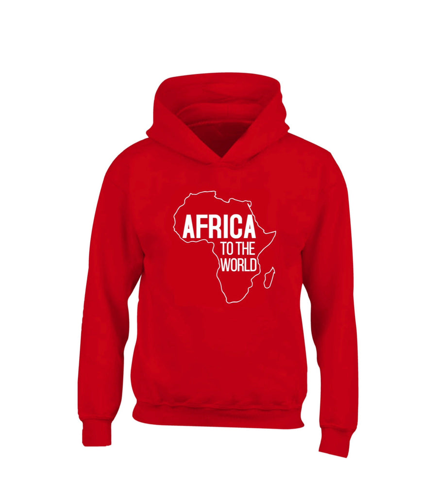 Africa to the world hoodie