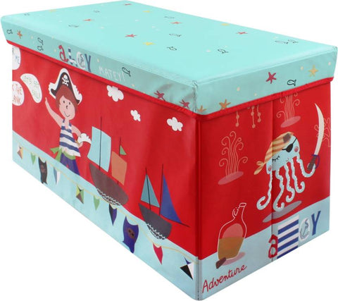 BestP Cartoon Print Storage Box | Folding Storage Box | Under Lid Storage with Padded Seat - BestP : Best Product at Best Price