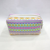 Assorted Print Cosmetic/Travel Pouch in Multicolor - Best Price Company India