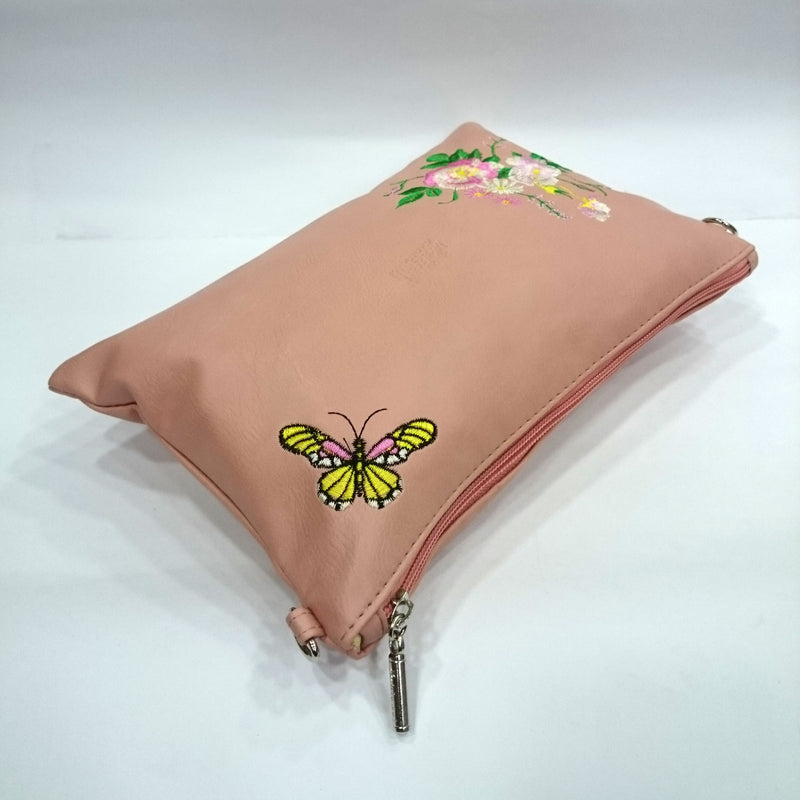 Flower Print Sling Bag in Brown Color | With Metal Sling - BestP : Best Product at Best Price