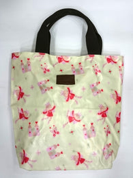Little Princes Print Multipurpose Tote Handbag in Light Green Color - Best Price Company India