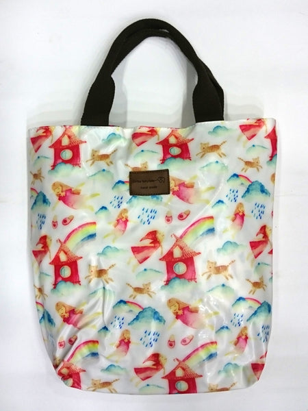 Assorted Print Multipurpose Tote Handbag in Multicolor - Best Price Company India