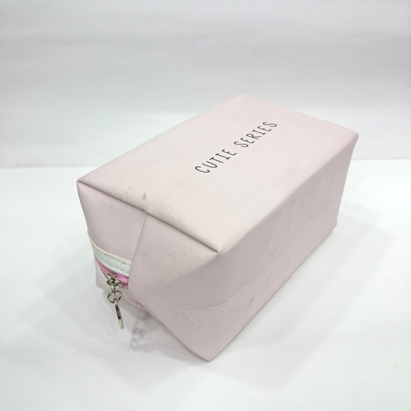Cute Series Print Cosmetic/Travel Pouch in Light Pink Color - BestP : Best Product at Best Price