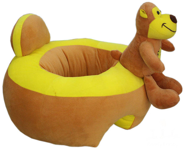 BestP Baby Monkey Seater (Brown & Yellow) - BestP : Best Product at Best Price