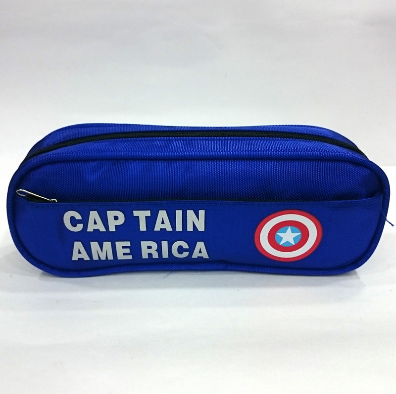 Superhero Logo Printed Pen & Pencil Bag - BestP : Best Product at Best Price