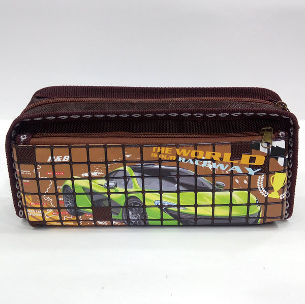 Raceway Car Pen & Pencil Bag - Best Price Company India
