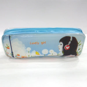 Lovely Flower Girl Pen & Pencil Case - Best Price Company India