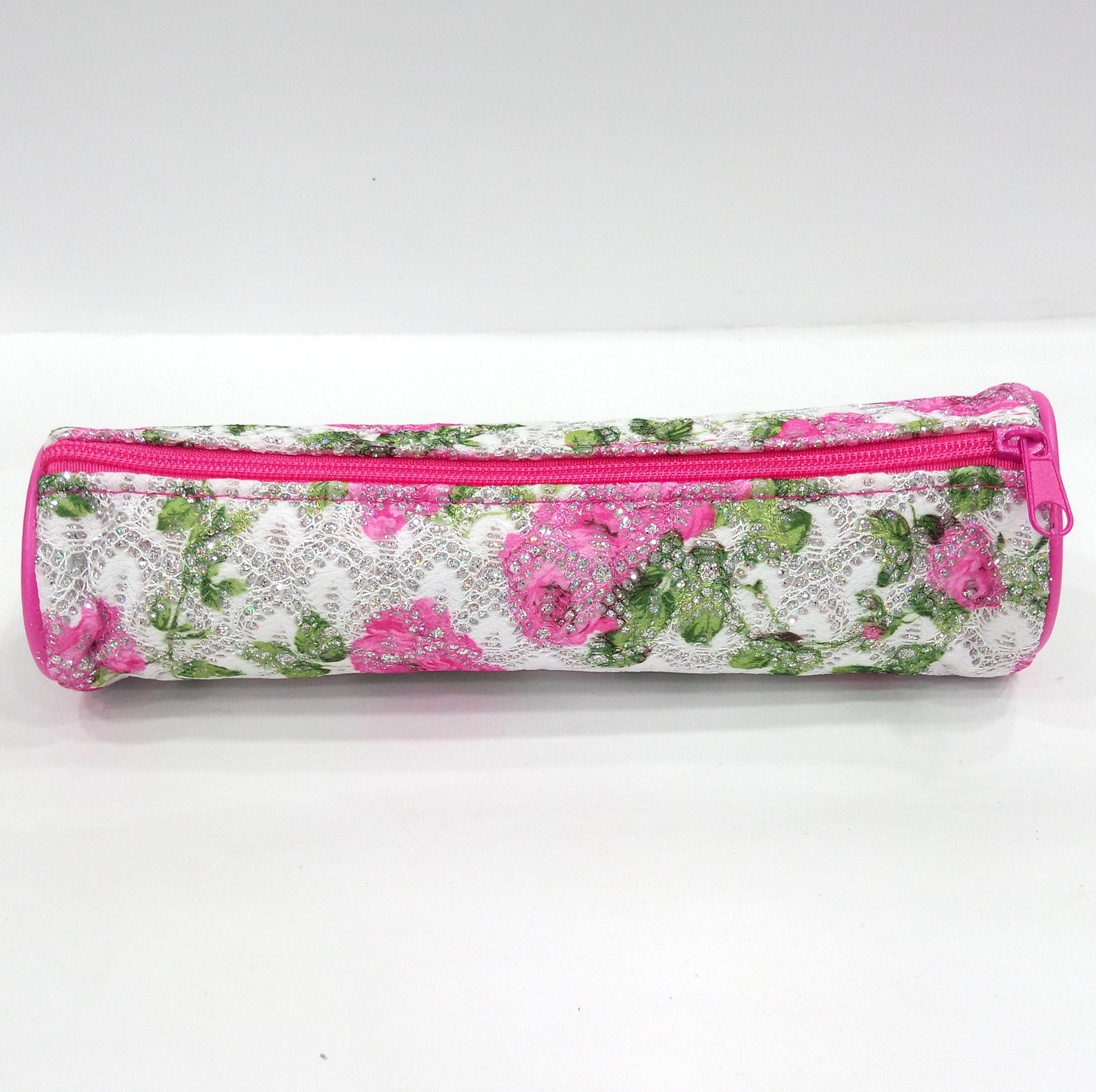 Flower Print Pen & Pencil Pouch - Best Price Company India